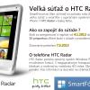Veľká súťaž o smartfón HTC Radar