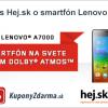 Súťaž s Hej.sk o smartfón Lenovo A7000